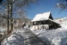 Die Mühle im Winter