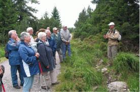 Führungen mit dem Nationalparkzentrum